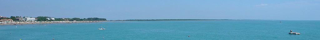 Caorle - Spiaggia di Levante e litorale di Bibione