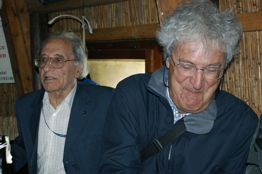 Giacomo Scotti e Augusto Debernardi