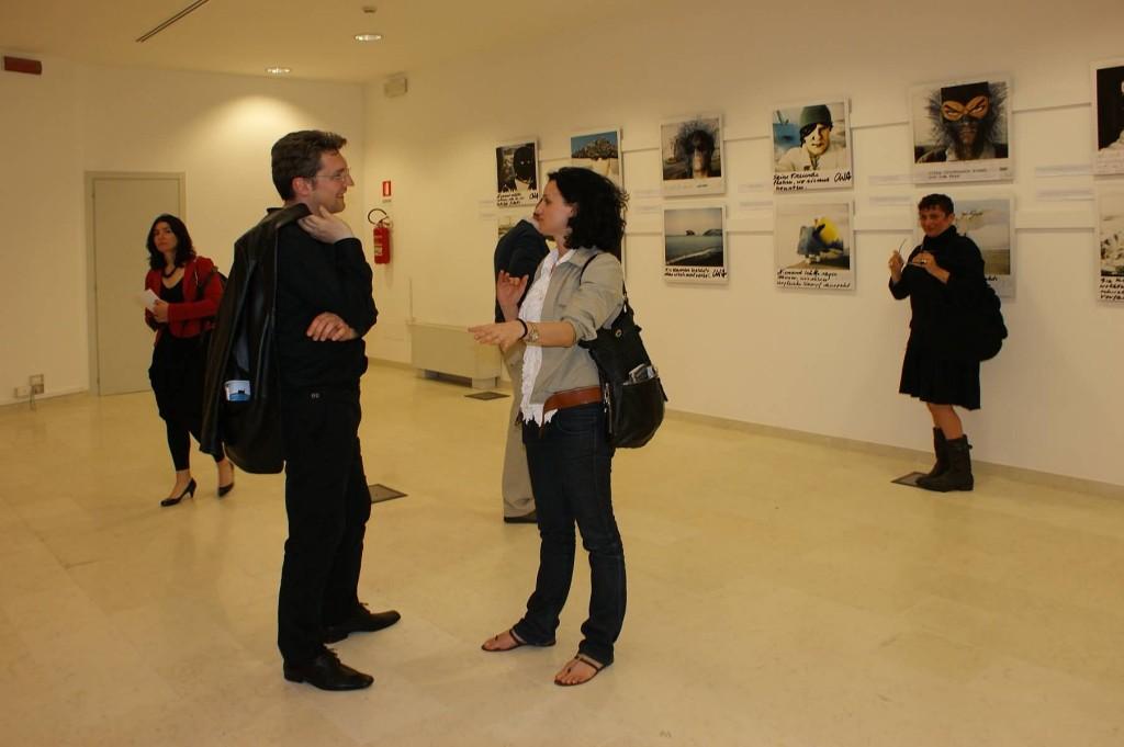 Inaugurazione: Corrado Rojac (Musicista) ed Elisa Canta (Regista)