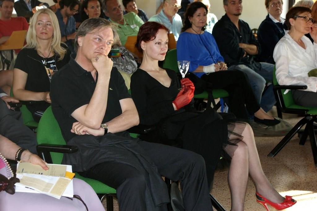 C.W. Aigner e Patrizia Valduga