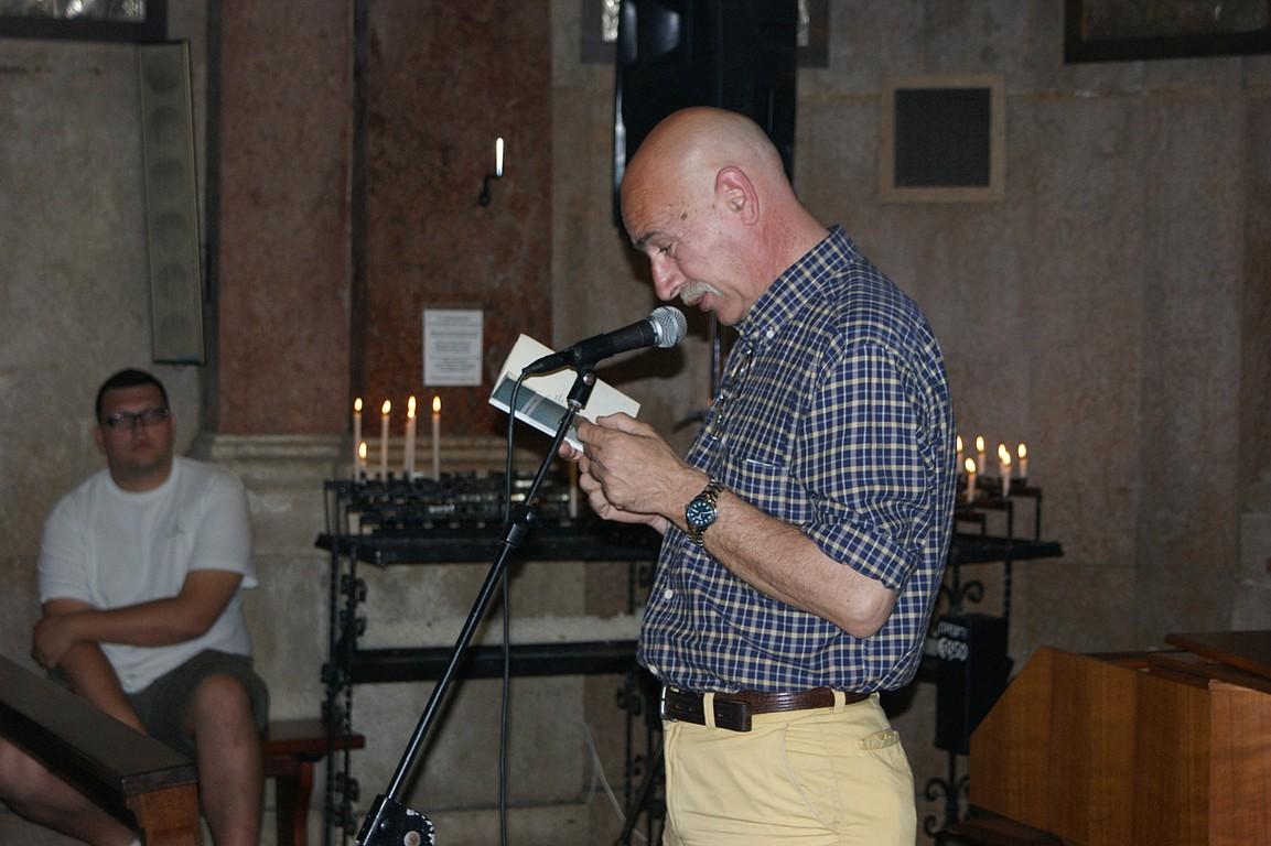 Reading al Santuario della Madonna dell'Angelo: M. Santagostini