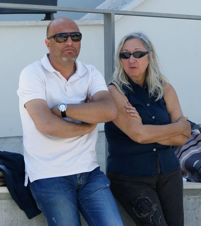 Fabio Franzin e Marina Moretti