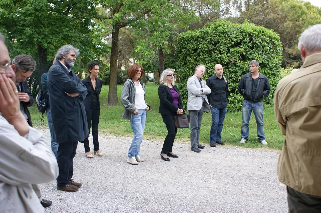 I poeti nel borgo rurale di Ca' Corniani