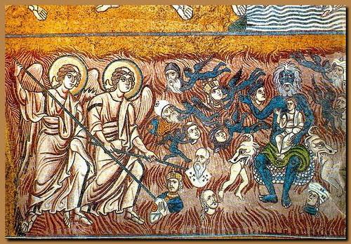 Torcello - mosaico del Giudizio Universale