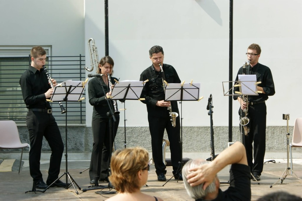 """Quartetos """"Claria"""" - Ensamble di Clarinetti, Fond. Musicale S. Cecilia di Portogruaro"""