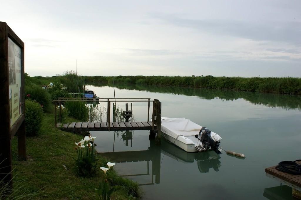 Il fiume Livenza a Ca' Corniani