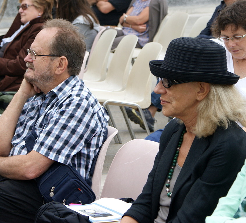 immerSidiverSi in Piazza Matteotti: Adriana Gloria Marigo,Marko Kravos - 03/06/2012
