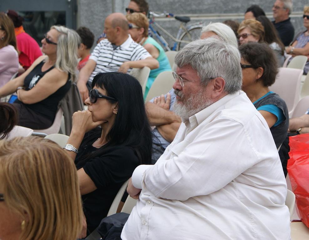 immerSidiverSi in Piazza Matteotti: Géza Szőcs, Marina Moretti - 03/06/2012