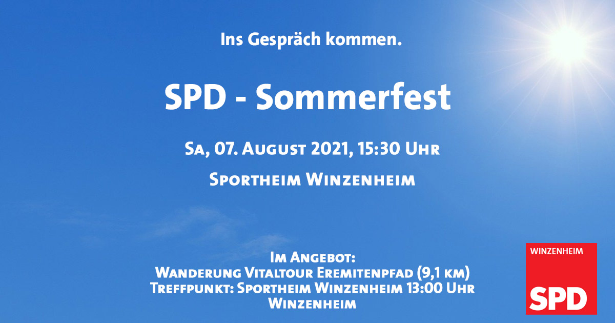 Lassen Sie uns über Winzenheim sprechen!