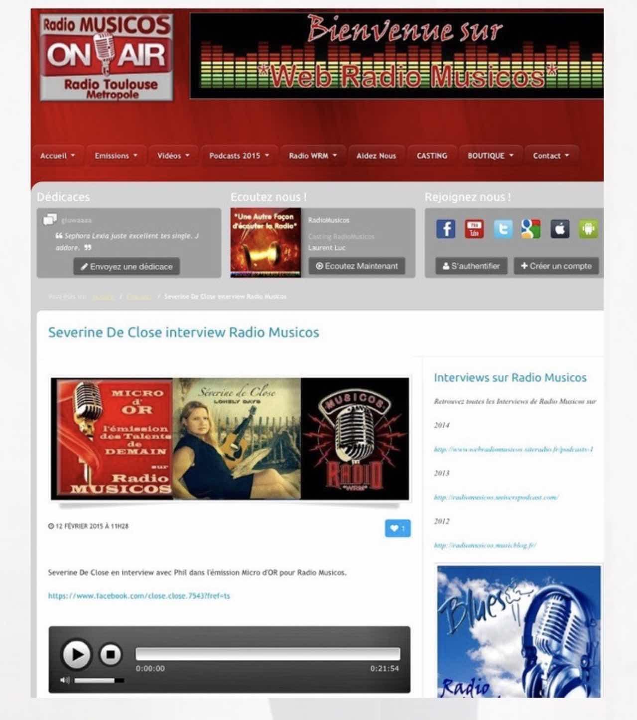 Radio Musicos - 12/02/15
