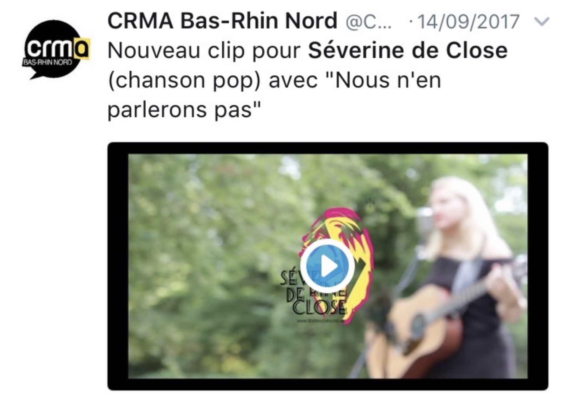 CRMA Bas-Rhin Nord 14/09/17
