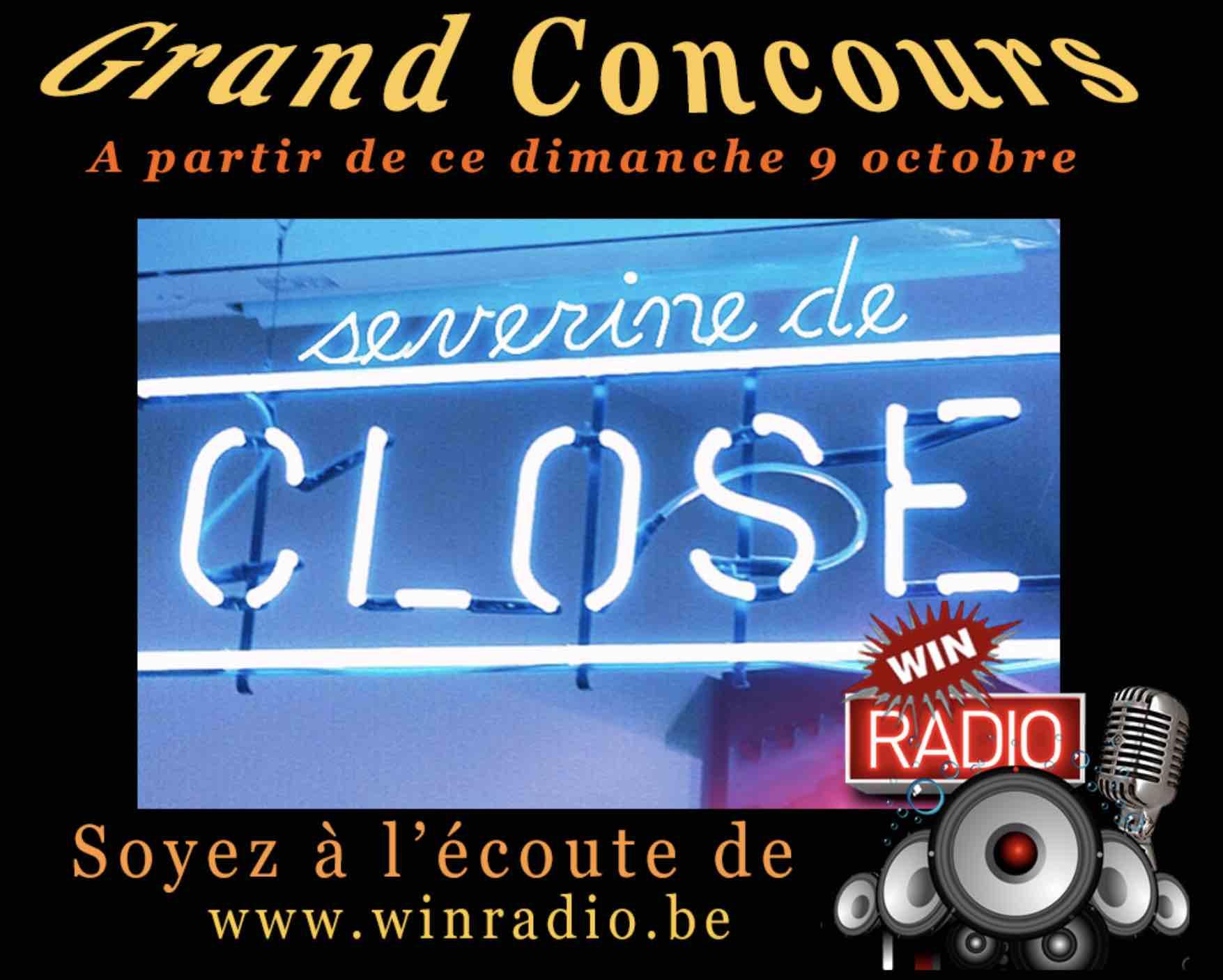 """Concours """"Version Live"""" sur WinRadio - septembre 2018"""