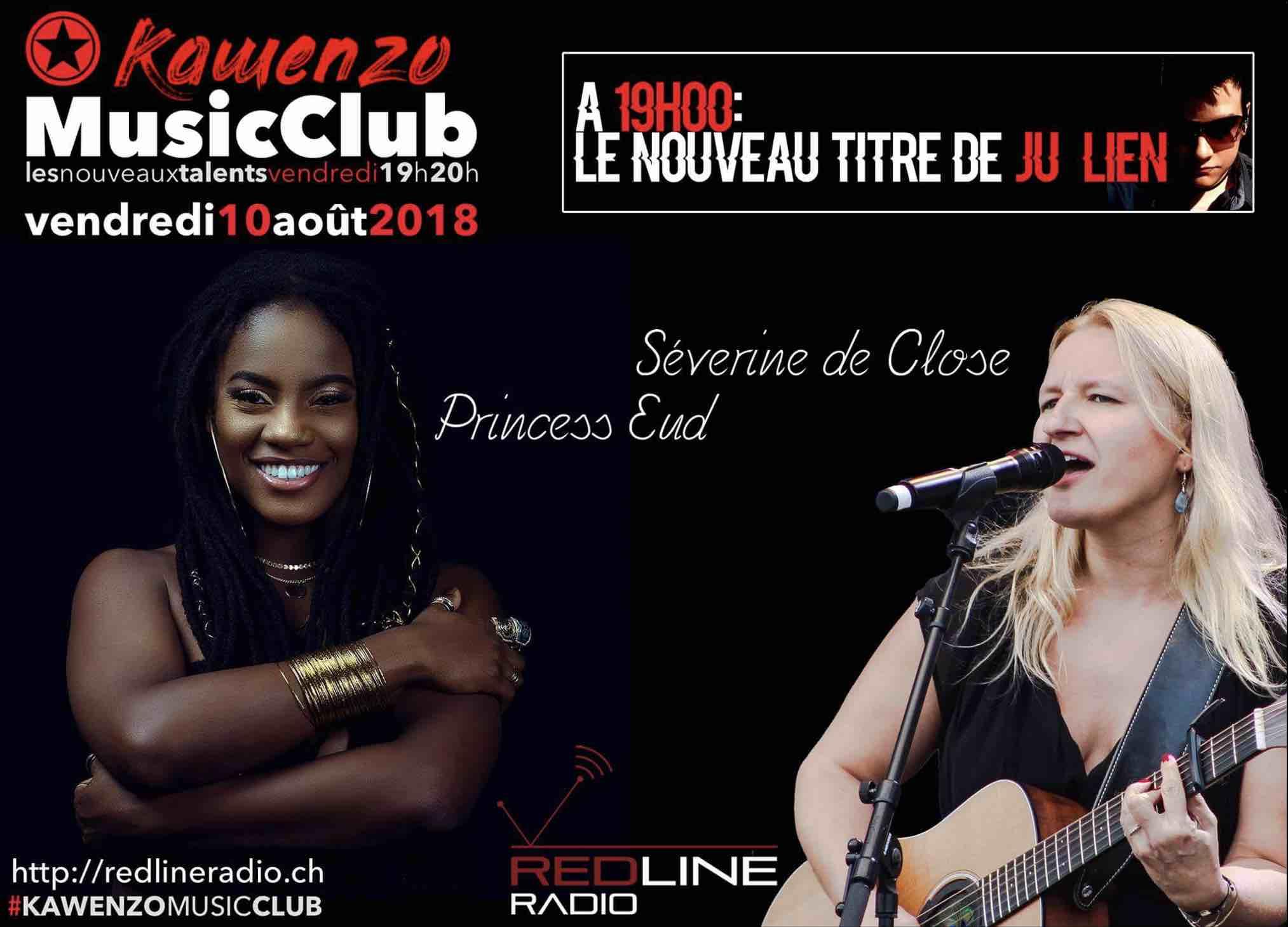 Coup de Coeur sur Radio Redline (Suisse) - 08/08/18