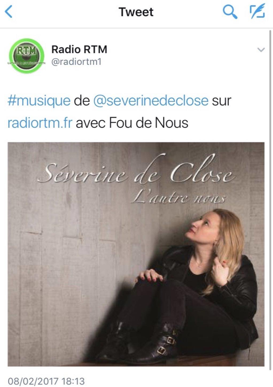 Radio RTM - 08/02/17