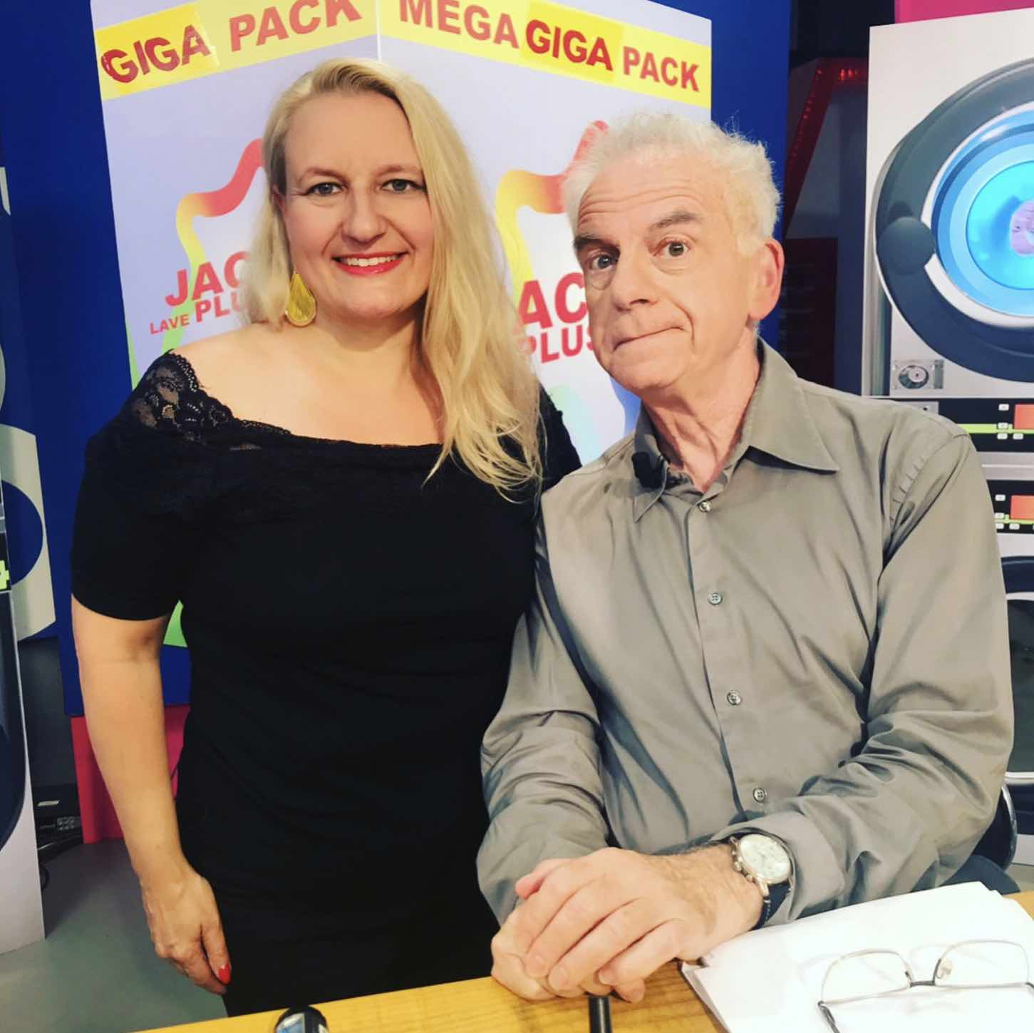 Avec Jacky dans son émission JLPP sur la chaine IDF1