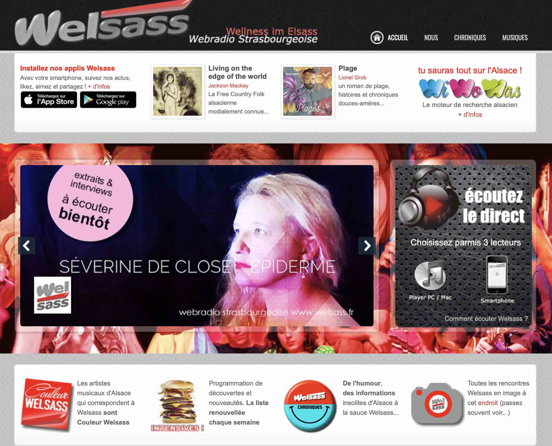 Radio Welsass - avril 2019