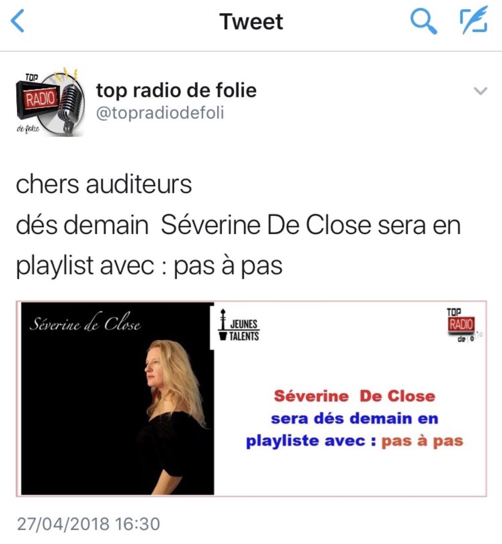 Top Radio de Folie - 27/04/18