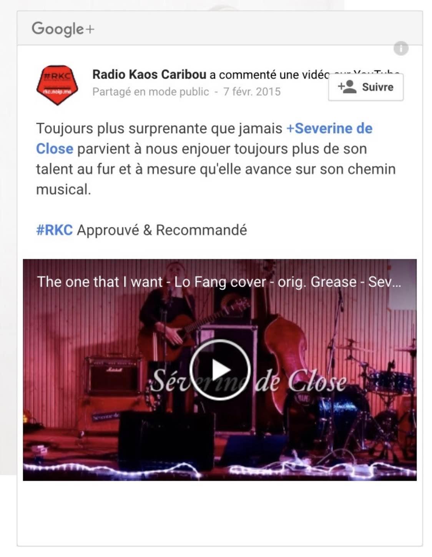 Radio RKC - 07/02/15