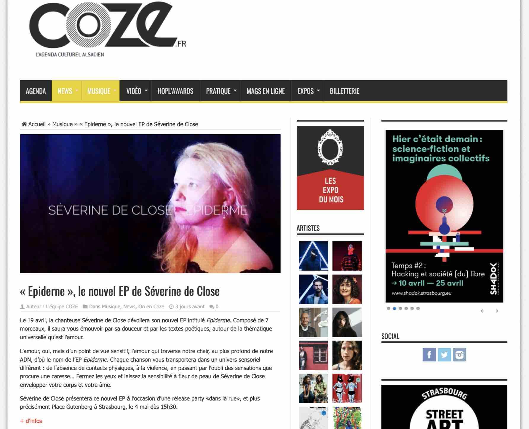 COZE Magazine - avril 2019
