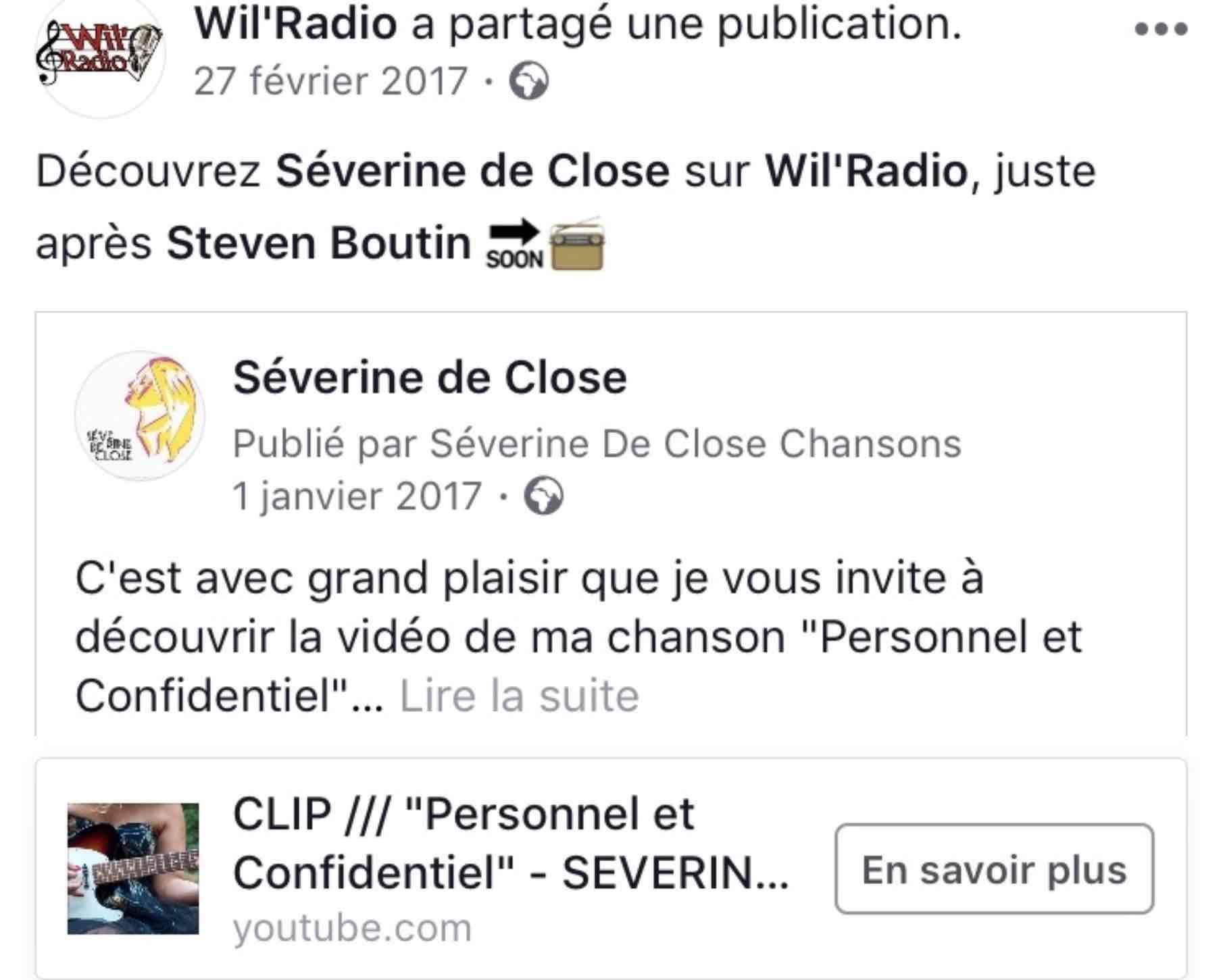 Wil'Radio - 27/02/17
