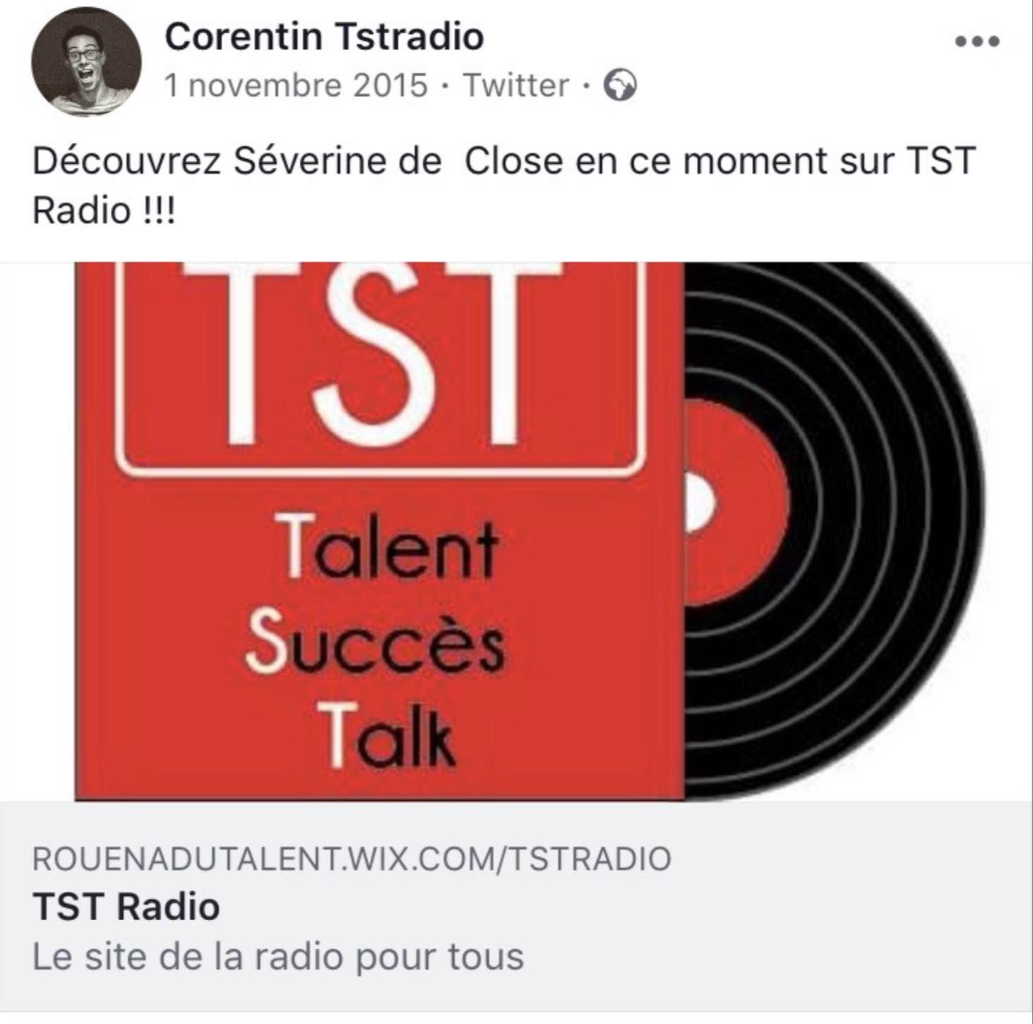 Radio TST - 01/11/15