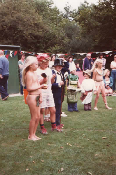 Sports Day & Childrens Party 1981