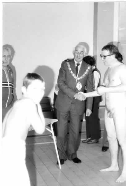 Swimming Gala in Yeovil 1982