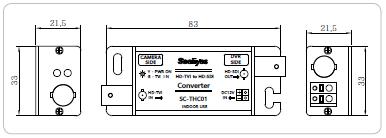 HD-SDI→SD(アナログ)コンバーター