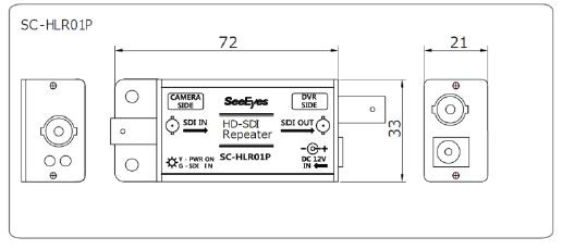 HD-SDIリピーター(120m)