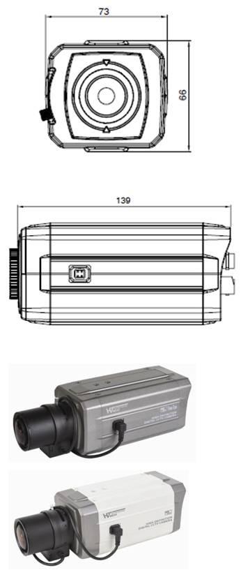 HD-CCTVボックスカメラ
