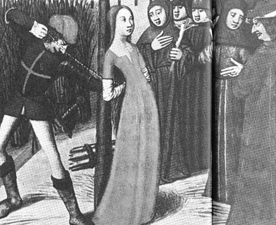 Jeanne D'Arc - 590. Todestag