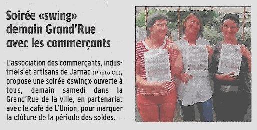 La Charente Libre du 31 juillet 2015