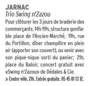 La Charente Libre du 30 juillet 2016