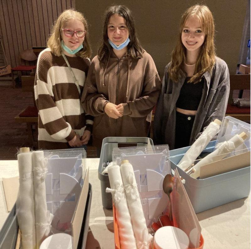 Danke für die Hilfe, liebe Sofie, Hanna und Sofia Juanita