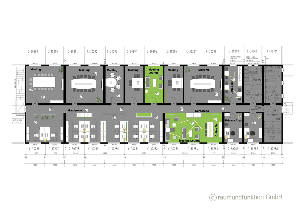 B 252 Rokonzepte B 252 Roplanung Gastronomieplanung Shopdesign