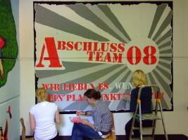 Abschlussmotto 2008