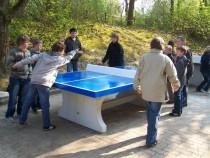 Die wetterfesten Tischtennisplatten