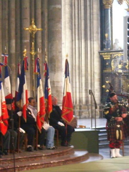 Cérémonie inter-religieuse Cathédrale d'Amiens 5 novembre 2006