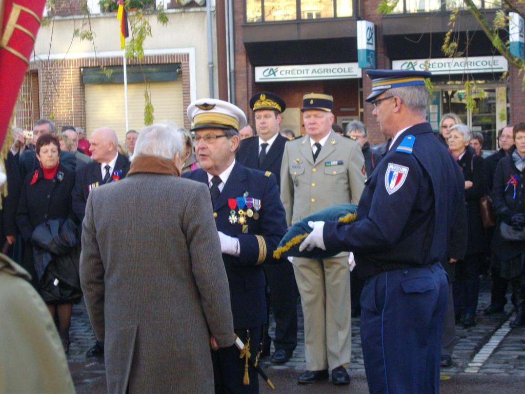 11/11 remise Légion d'Honneur à Monsieur Gratien Bocquet