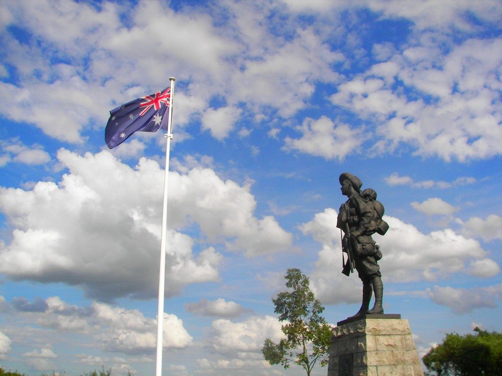 "Australian ""Digger"" Memorial - Bullecourt"