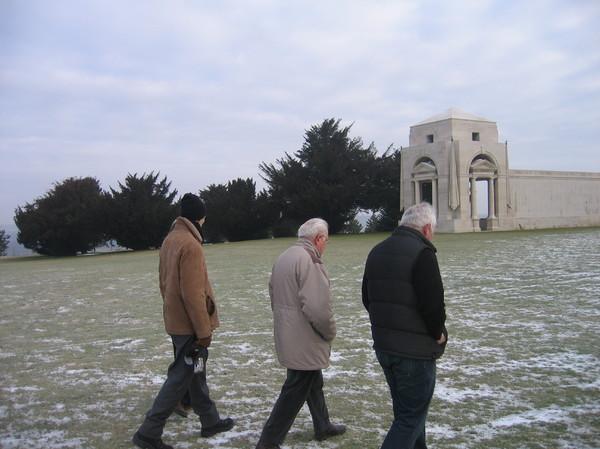 Eric & Michel Brisse ,P.E Sagnol à Villers Bretonneux Austalian national memorial