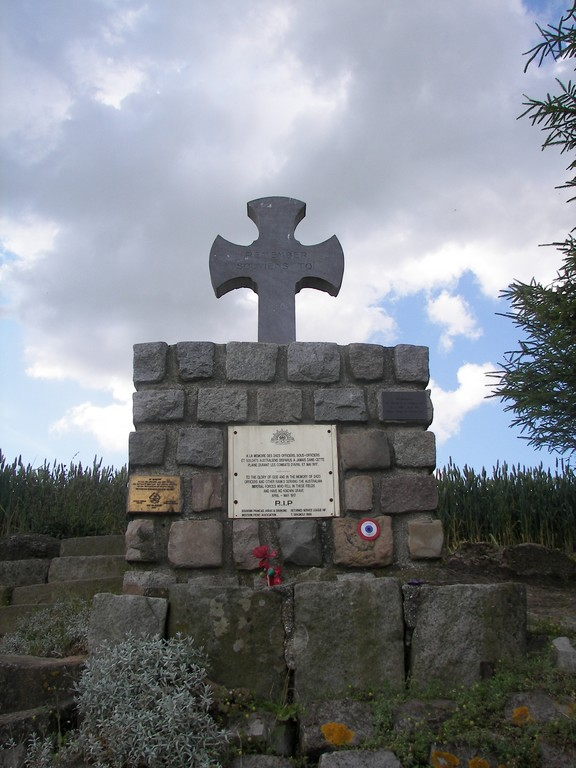 Memorial soldats disparus pendant les combats de mai et avril 1917 - Bullecourt