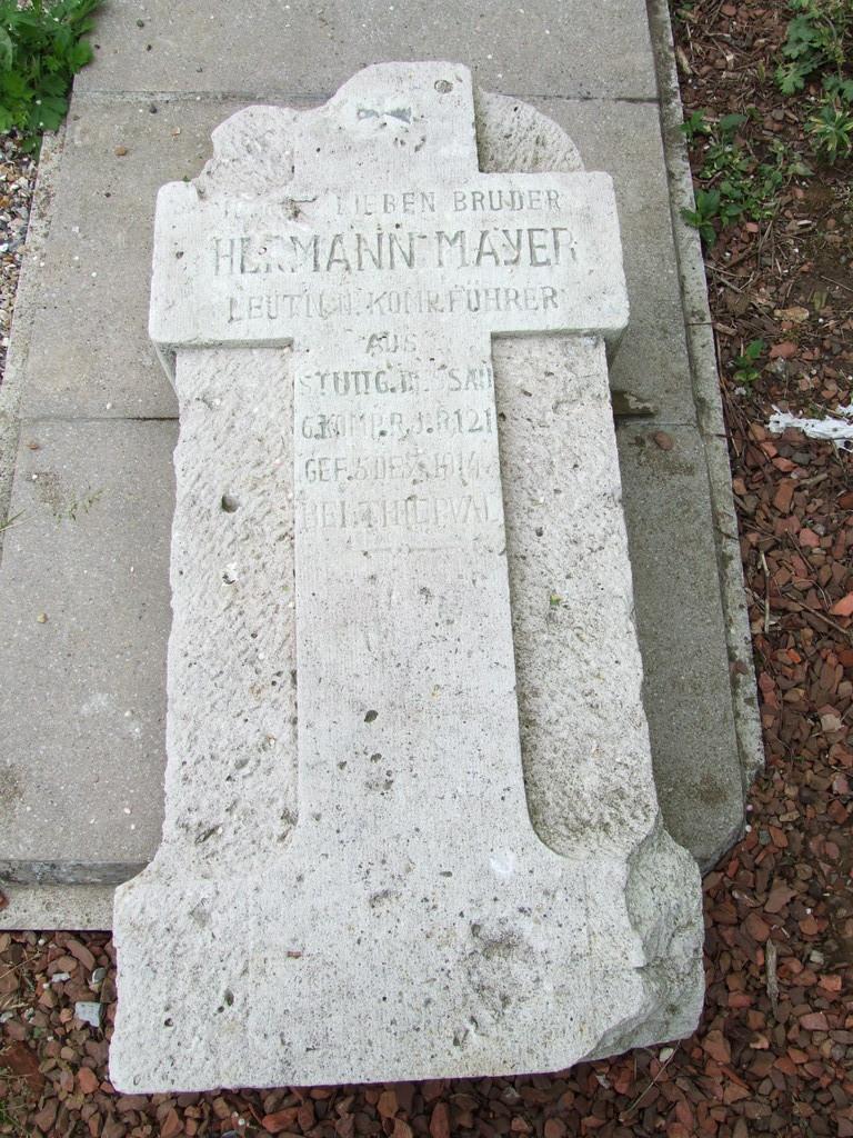 German grave Courcelette