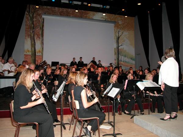 Orchestre de vent concert de Mémoire à Doullens 1er Octobre 2006