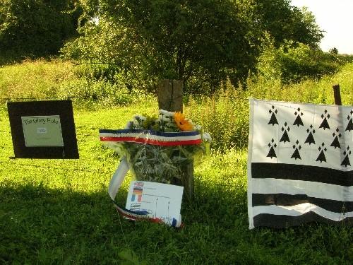 1er Juillet site proche d'Ovillers la SRA commémore les Bretons