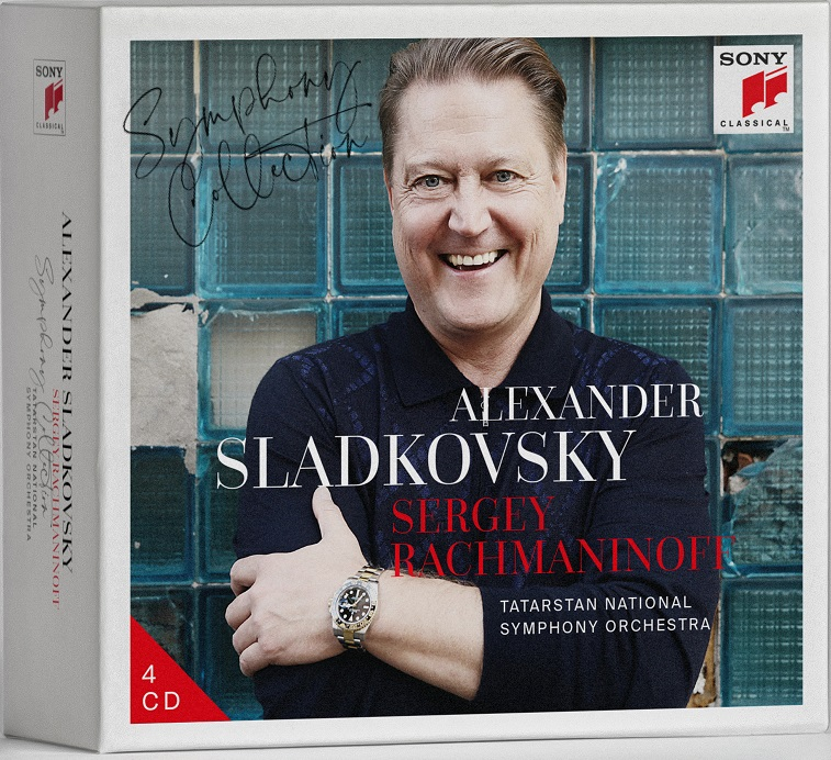 "TNSO and Alexander Sladkovsky present new box set  ""Sergey Rachmaninoff. Symphony collection"""