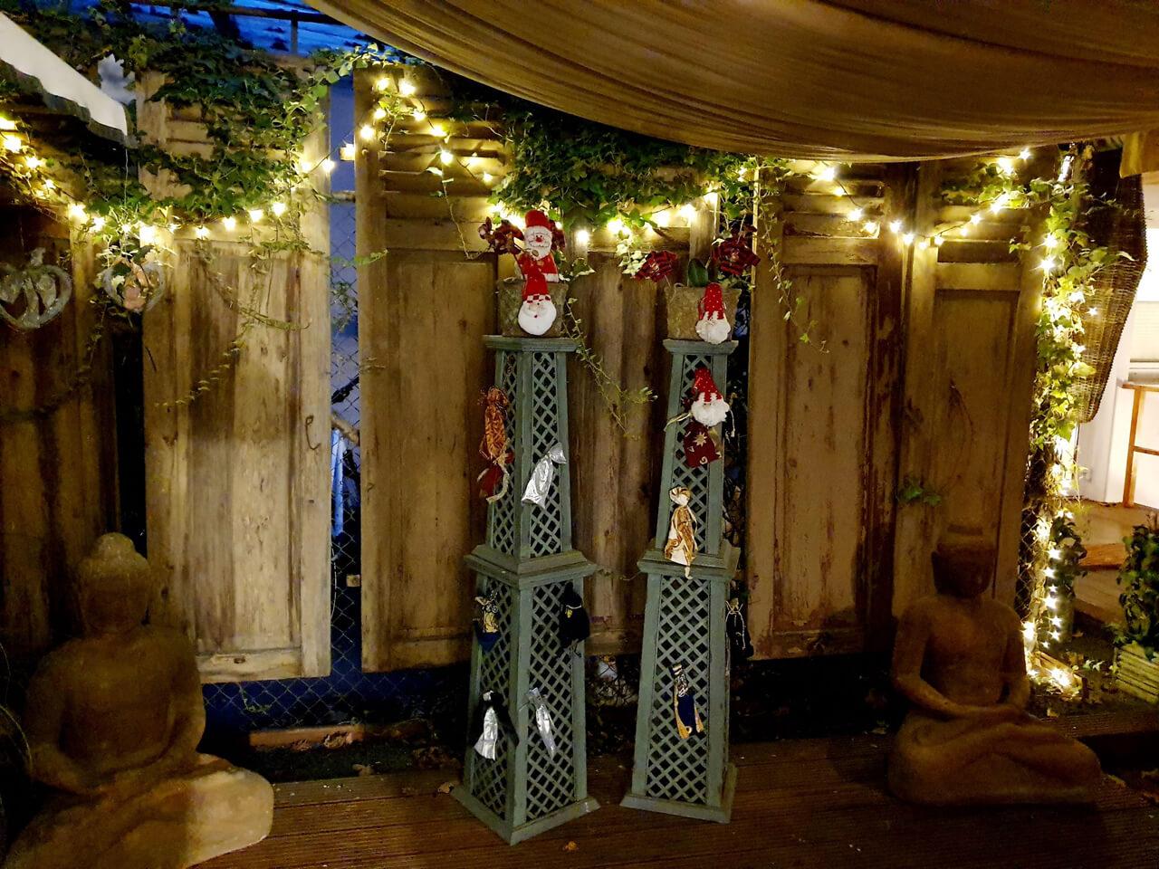 Joell Style Innen-Hof Weihnachtsdekoration