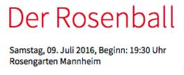 09.07.2016: Rosenball WDC German Open Championship mit JOEL STYLE