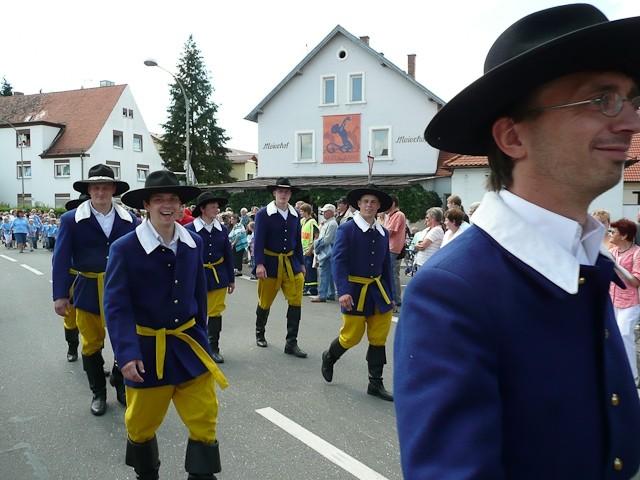 """Annafest-Umzug mit unseren """"Freien Bauern"""""""