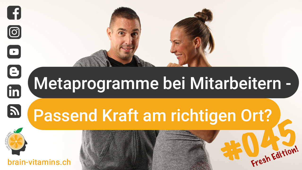 Metaprogramme bei Mitarbeitern - #045